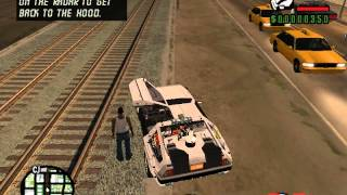 GTA: San Andreas- Back to the future mod [new]