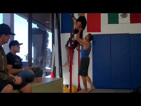 Steve Maxwell:  Diego Sanchez Double KB Thruster + Chin-Up Image 1