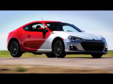 Scion FRS (GT86) vs. Subaru BRZ on Track - Everyday Driver