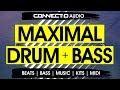 Maximal Drum & Bass - Liquid Funk DnB Drum Loops -  CONNECT:D Audio