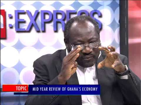 Mid Year Review of Ghana's Economy - PM Express on Joy News (6-7-15)