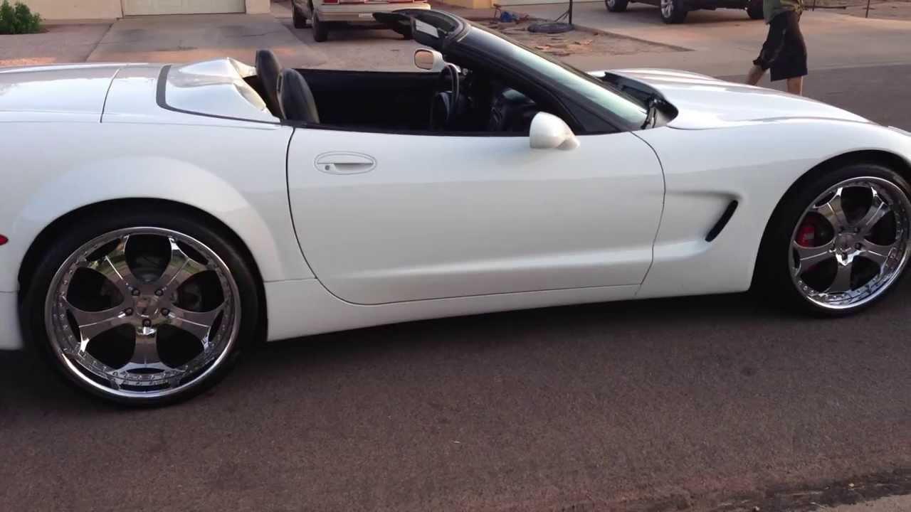 C5 Corvette Cammed Borla Exhaust Wide Body Kit 22 S
