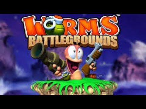 WORMS BATTLEGROUNDS PS4 En Español ¡¡ VAMOS A COMER GUSANOS !! #1