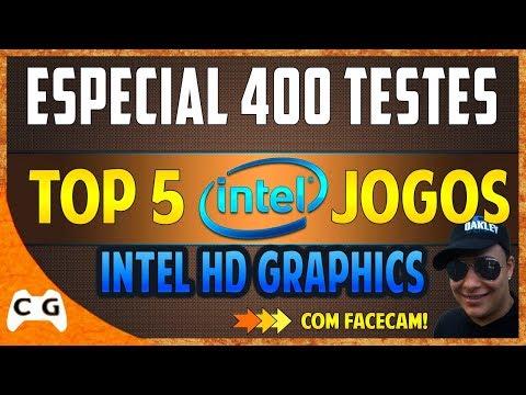 Top 5 Jogos Incríveis Que Roda Na Intel HD Graphics /PC Fraco (Especial #400)