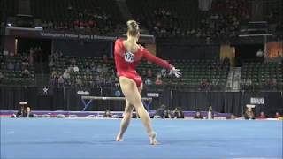 Brenna Dowell (USA) Floor Exercise Start Value 2016