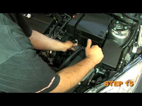 2010 2011 2012 Mazda 3 2.5L K&N Air Intake Installation