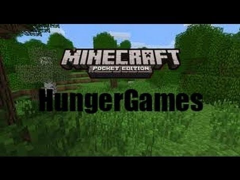 Minecraft pe hunger games game 4 - CHEATING