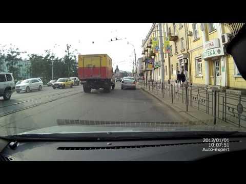 ДТП Тайота Королла и Авто Аварийной службы