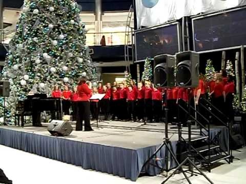 Shakopee Middle School Select Choir Mall of America 2010