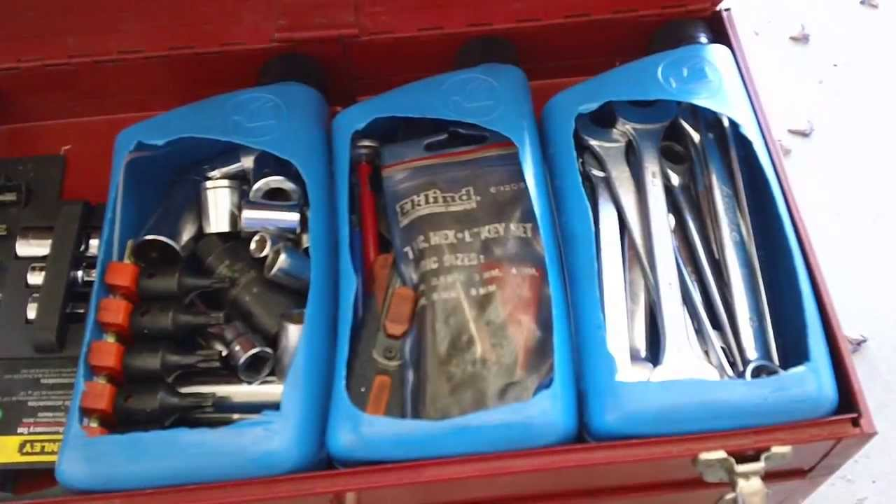 Truck Tool Box With Drawers >> Awesome Mechanic Tool box Organizer Tip - YouTube