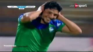 الهدف مصر المقاصة الثاني الملغي امام المريخ