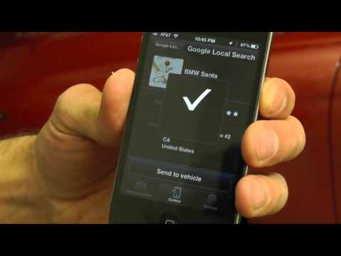 My BMW Remote iPhone App Walkthrough