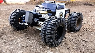 RC ADVENTURES - New Sheriff in Town - Dual Motor Traxxas Summit 1/10th Scale MT