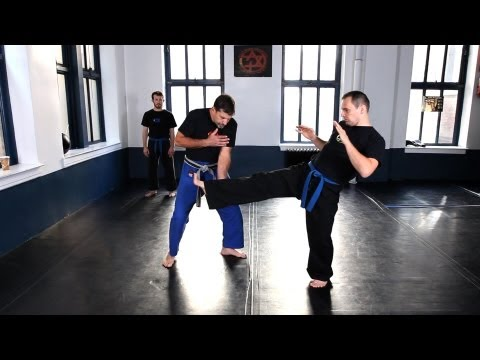 How to Do Inside Defense against Kick | Krav Maga Defense Image 1