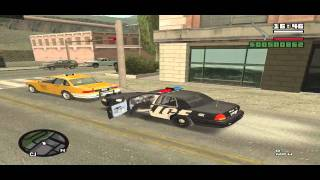 GTA SA - SAPD:FR 2.5 - Patrol Day 2