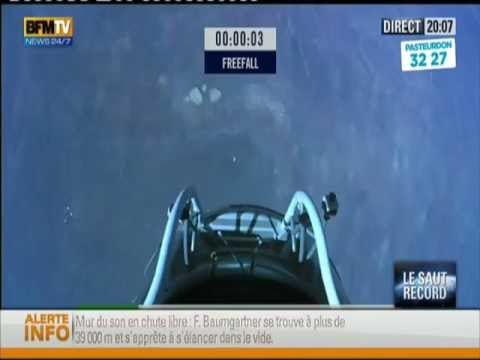 Supersonic skydiver Fearless Felix Baumgartner