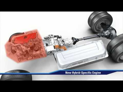 Hino 195h Diesel-Electric Hybrid Video