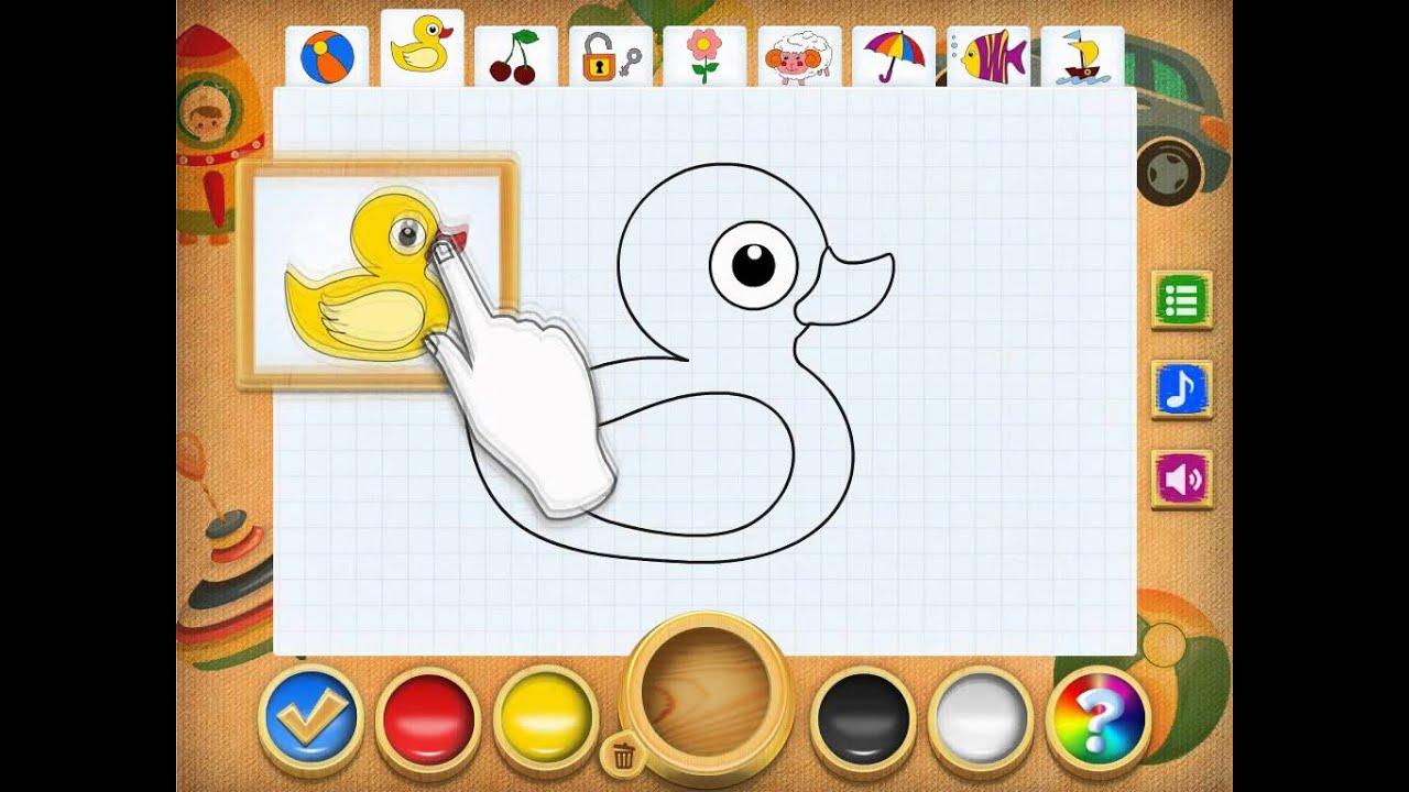 Игры для рисования и раскраска онлайн бесплатно