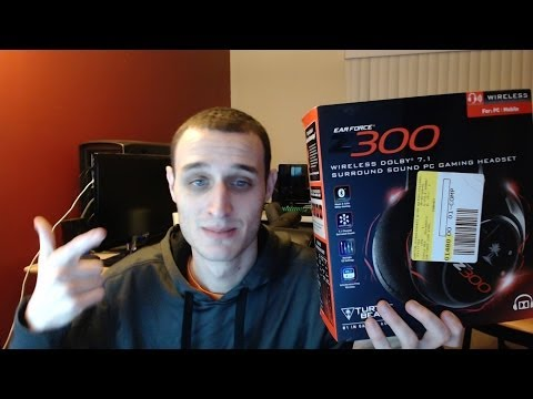Turtle Beach Z300 Wireless Gaming Headset Unboxing, Mic Test and Review