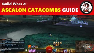 Guild Wars 2: Ascalon Catacombs Paths 1, 2 & 3   GW2 Dungeon Guide for Noobs