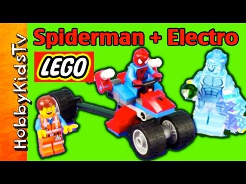 LEGO SPIDER-TRIKE vs. Electro and Emmet [Spiderman] [SUPERHERO] [76014]