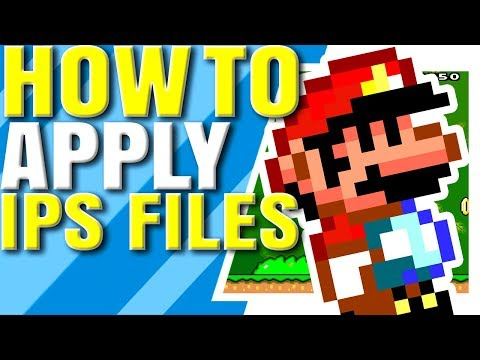 How To Patch ROM Hacks W/ IPS Files - FLIPS Tutorial |Brutal Mario|