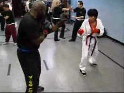 Tang Soo Do vs Wing Chun- Me vs Bill Image 1