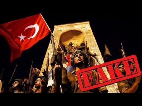 Инсценировка ли беше опита за военен преврат в Турция?