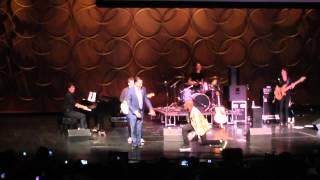 Mitt Romney dances with Alex Boye