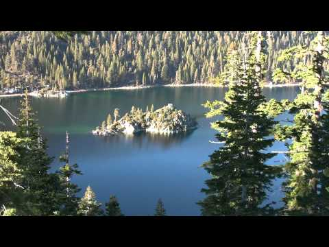 Winter Lake Tahoe scenic drive (HD)