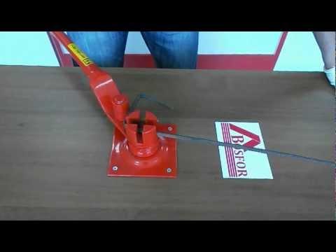 Ручной станок для гибки арматуры AFACAN Турция 14EC - Омск туристический видеопортал