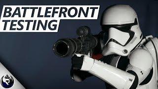 Aerial FALL Damage? (Testing The Battlefront) - Star Wars Battlefront 2 Mythbusters