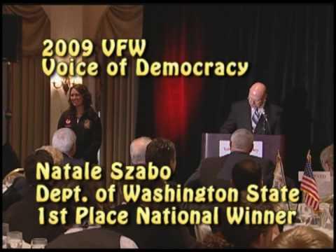 voice of democracy essays 2012