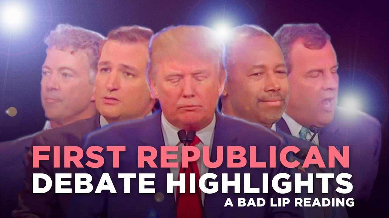Funny Pro Republican Quotes First Republican Debate