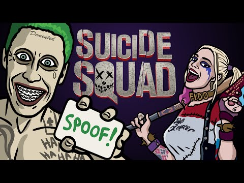 Suicide Squad Trailer Spoof - TOON SANDWICH