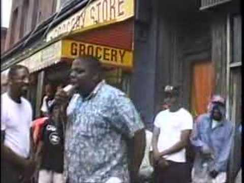 Notorious BIG freestyling in Bed Stuy at age 17 Music Videos