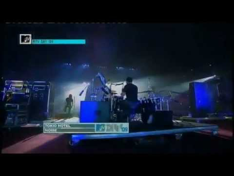 Tokio Hotel - Noise (live  Greece Mtv World Stage Part1) video