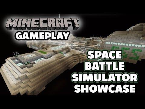 Space Station Simulator Showcase - Minecraft Playthrough