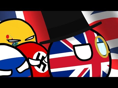 COUNTRYBALLS №38   Приключения Великобритании