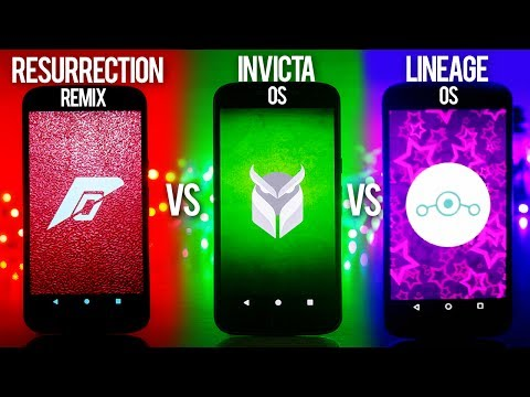 What's The BEST Custom Rom in 2017 for Moto G4 Plus ? Lineage Os Vs Resurrection Remix vs Invicta Os