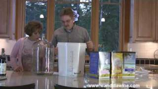 Making Wine at Home From Kits Part 1 - Equipment