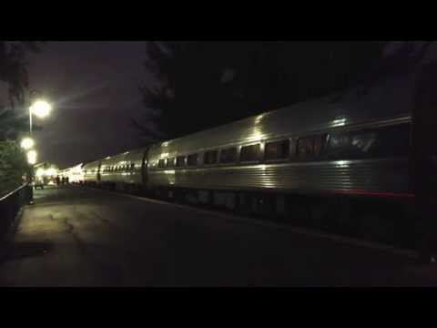 AmtrakPO97-19 With P42-DC #42 Veterans Unit At deerfield Beach Station