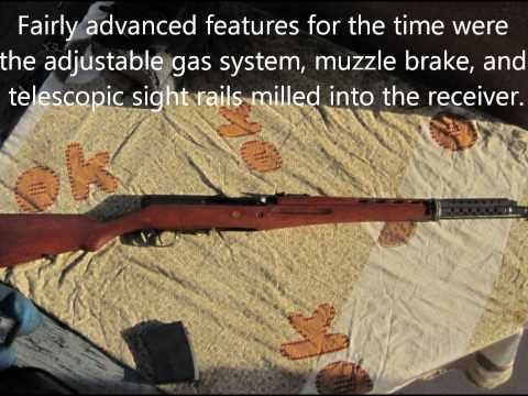 WWII Russian SVT-40 Rifle at 420 yards