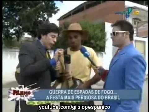 Pânico Na TV 26/06/2011 - Vesgo e Silvio na Guerra de Espadas em Cruz das Almas - BA