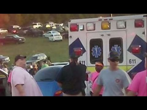 Over a dozen injured in parking lot accident at NASCAR event