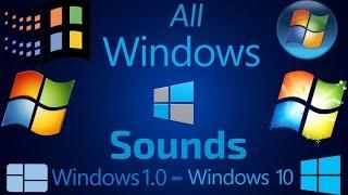 All Windows Sounds   Windows 1.0 - Windows 10