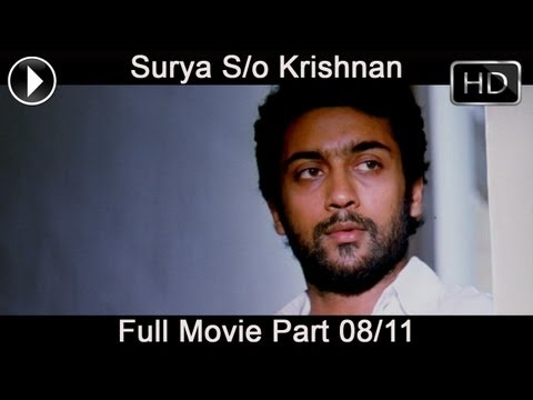 Surya Son Of Krishnan Telugu Full Movie Part 08 11 (surya, Sameera Reddy, Simran) video