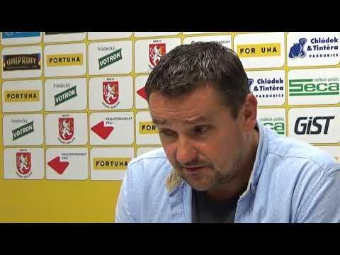 Tisková konference po utkání FC Hradec Králové - 1. SC Znojmo FK 1:1