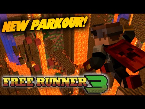 Minecraft FREE RUNNER 3 Parkour
