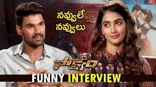 Pooja Hegde and Srinivas Funny Interview about Sakshyam Movie | Pooja Hegde| Srinivas